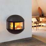 Small Modern Gas Fireplace