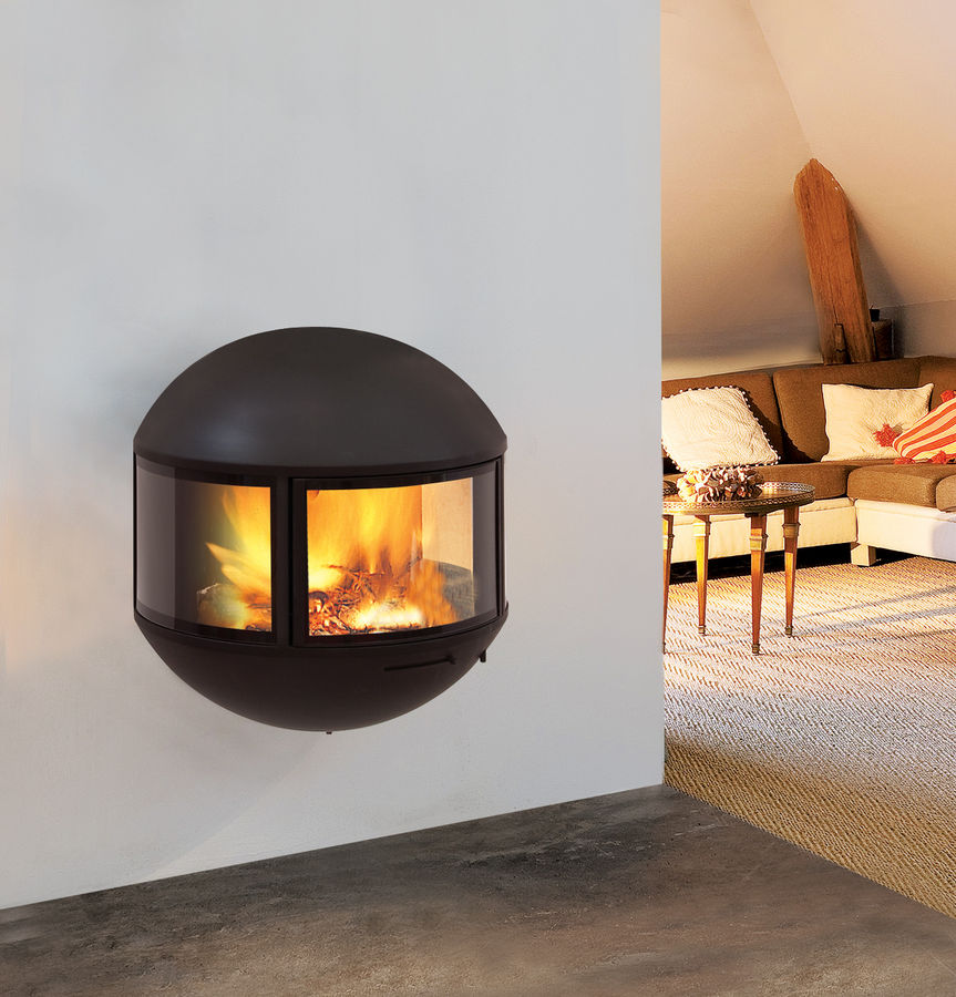Small Modern Gas Fireplace