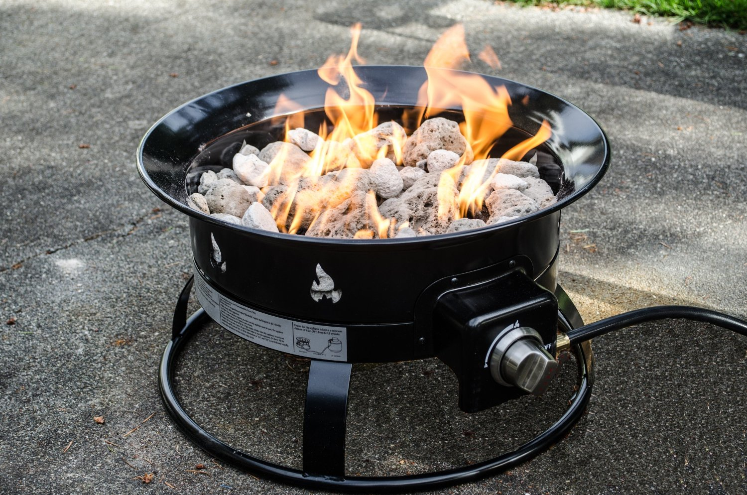 Small Portable Fire Pit Fireplace Design Ideas