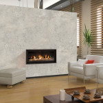 Small Vented Gas Fireplace