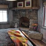 Stack Stone Fireplace DIY