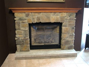 Stack Stone Fireplace Images