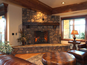 Stack Stone Fireplace Kits