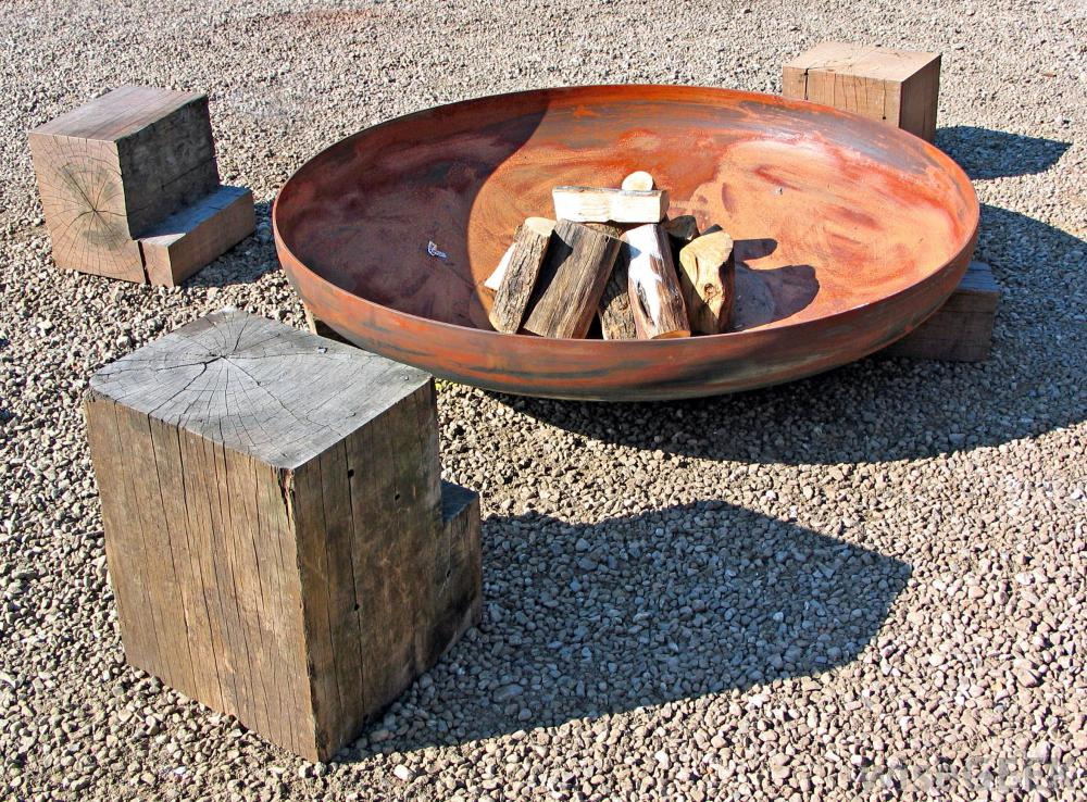 Steel Bowl Fire Pit