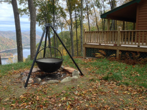 Steel Cauldron Fire Pit