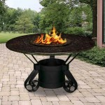 Steel Fire Pit Plans