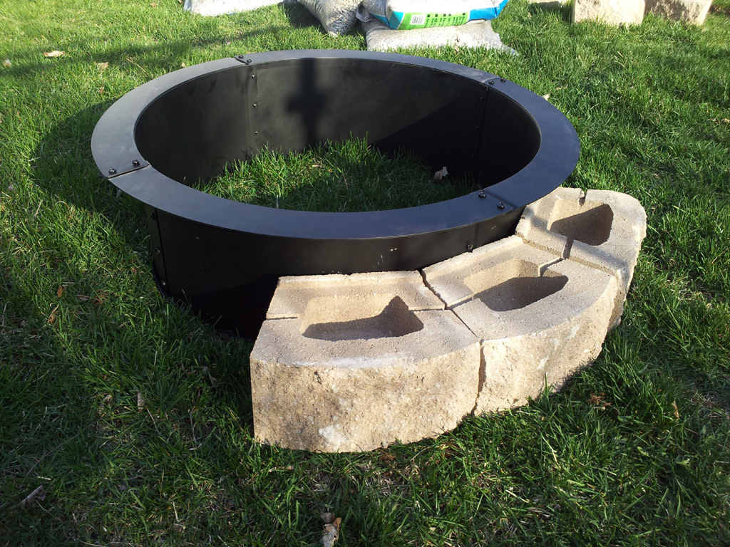 Steel Fire Pit Ring Fireplace Design Ideas