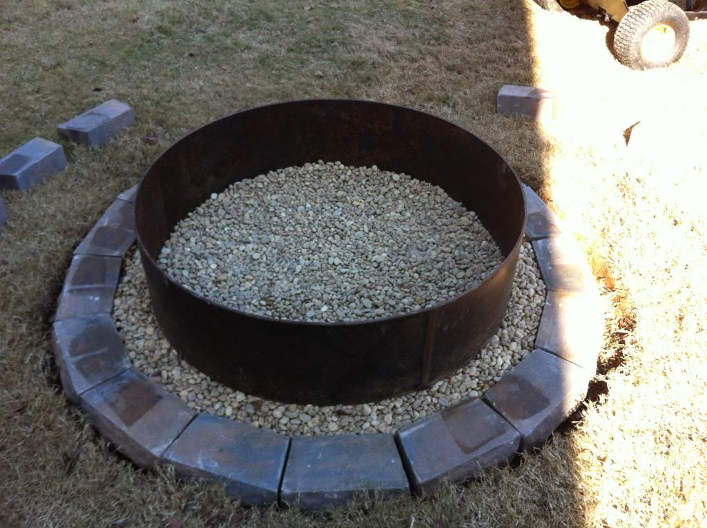 Steel Fire Pit Rings Fireplace Design Ideas