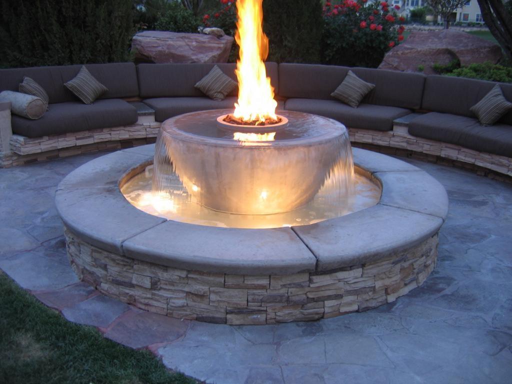 Stone Bowl Fire Pit