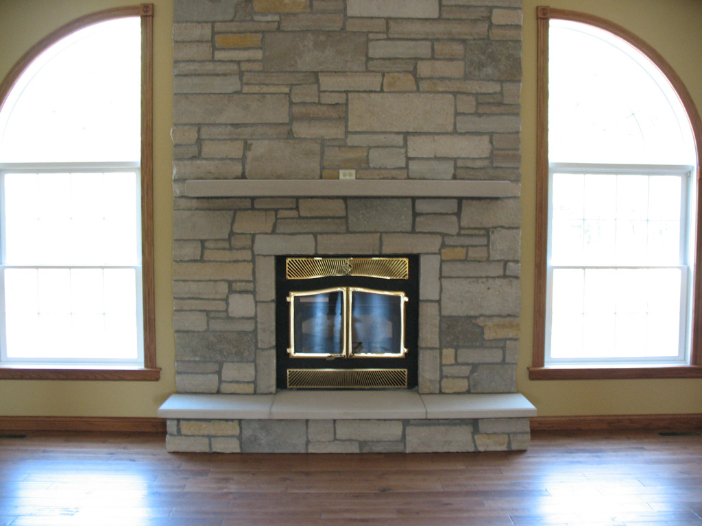 Stone Hearth for Fireplace