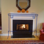 Stone Slab Fireplace Hearth