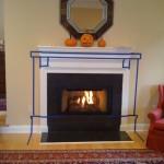 Stone Slab Fireplace Hearth