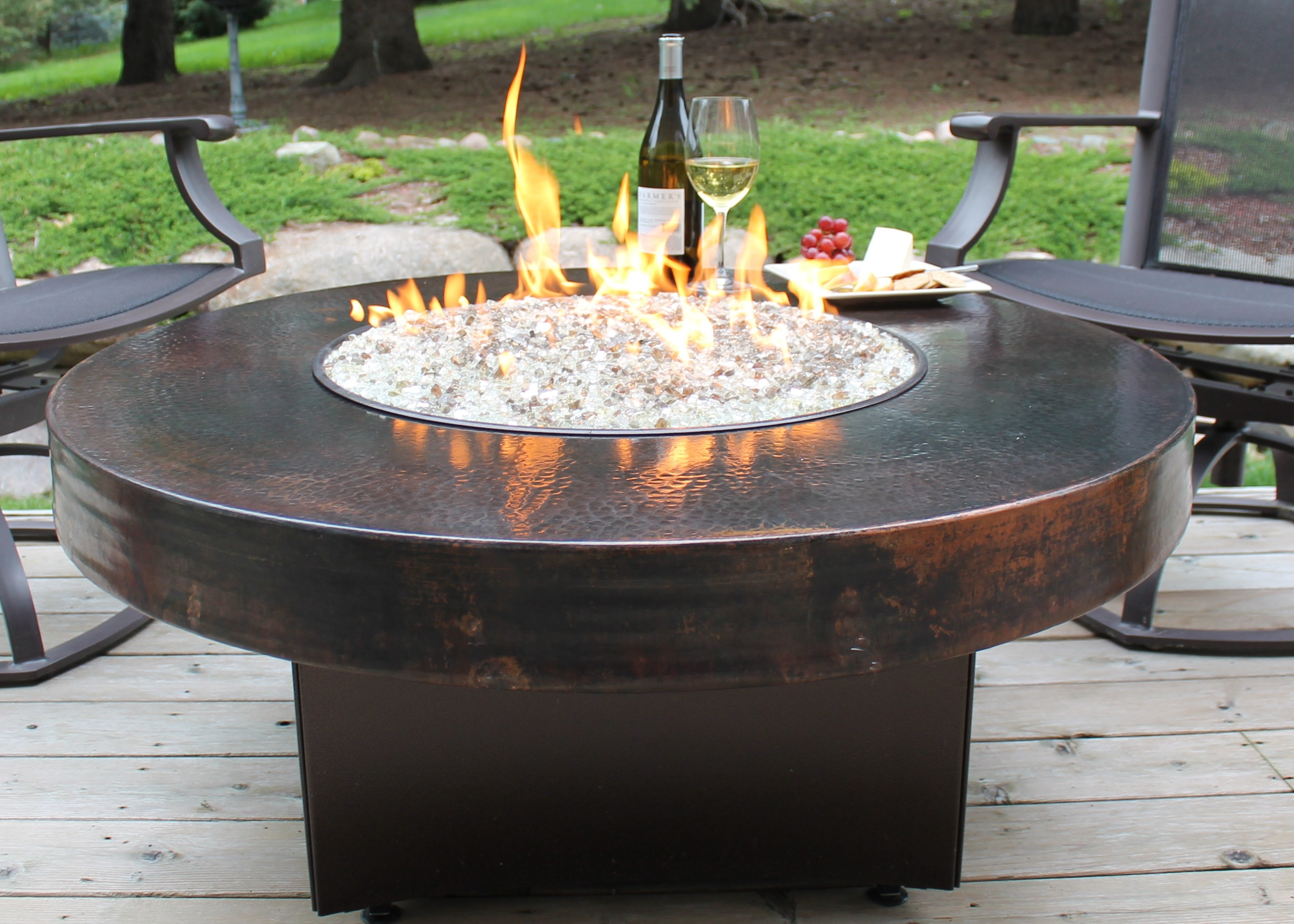 Tabletop Fire Pit Diy Fireplace Design Ideas