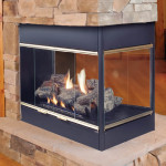 Three Sided Fireplace Insert
