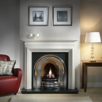 White Corner Fireplace Mantels