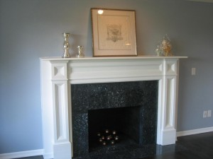 Factors to Consider in White Fireplace Surround : White Tile Fireplace Surround. White tile fireplace surround. white