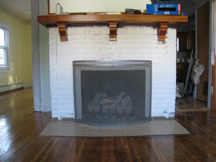white painted brick fireplace images fireplace design ideas