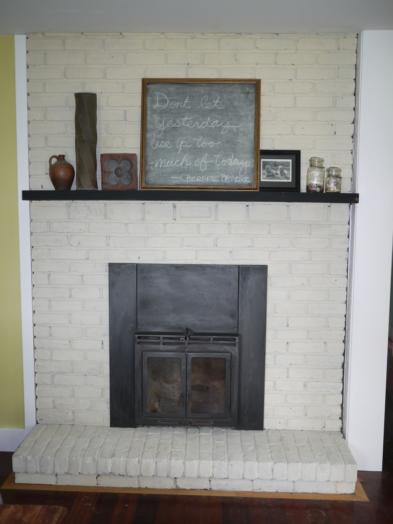 Best Paint For Red Brick Fireplace
