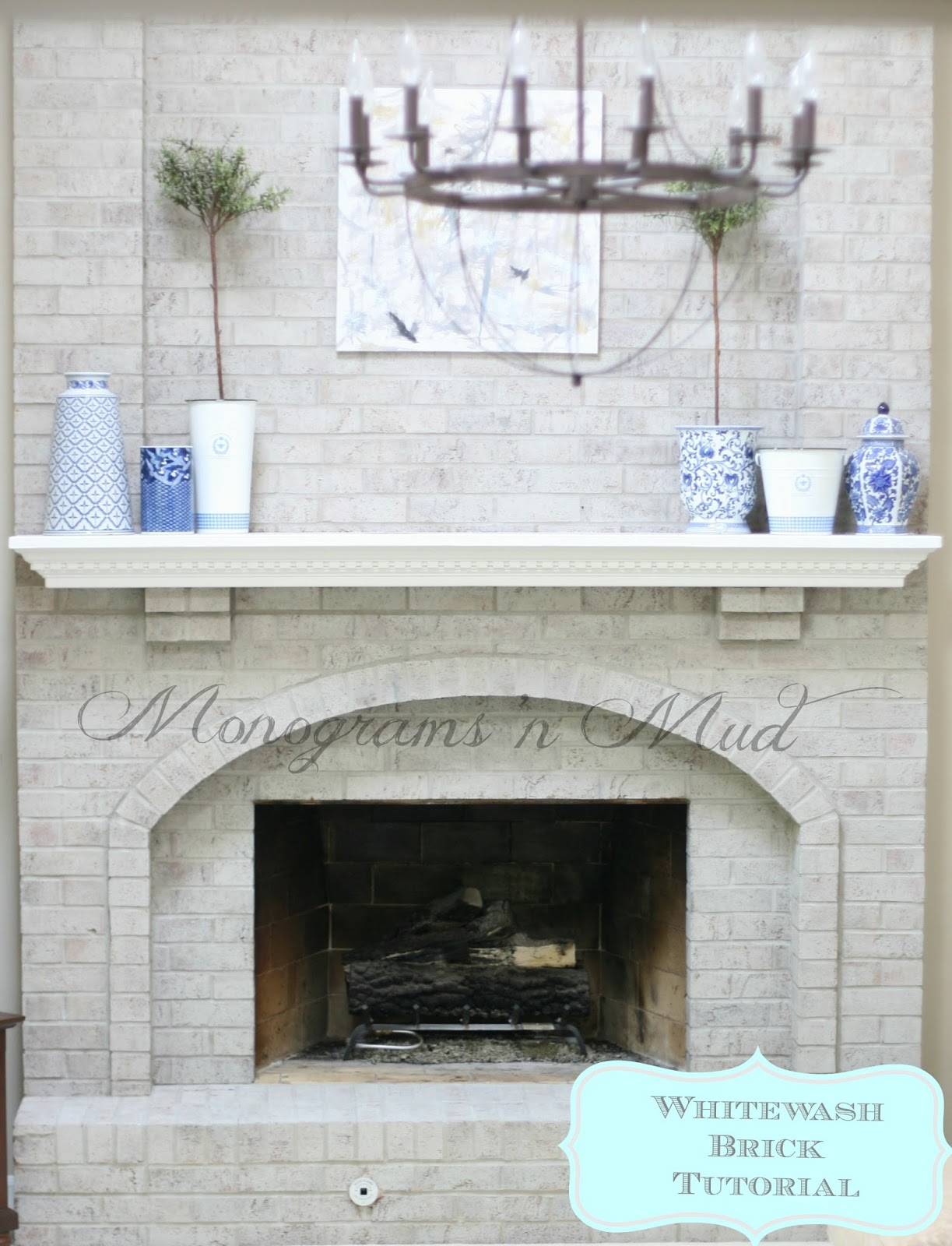 Did You Want To Whitewash Brick Fireplace In Your House Fireplace Design Ideas