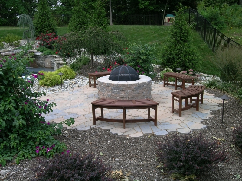 Backyard fire pit landscaping ideas house decor ideas for Best fire pit design