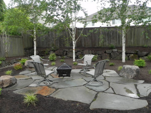 Backyard Design Ideas With Fire Pit Fireplace Design Ideas