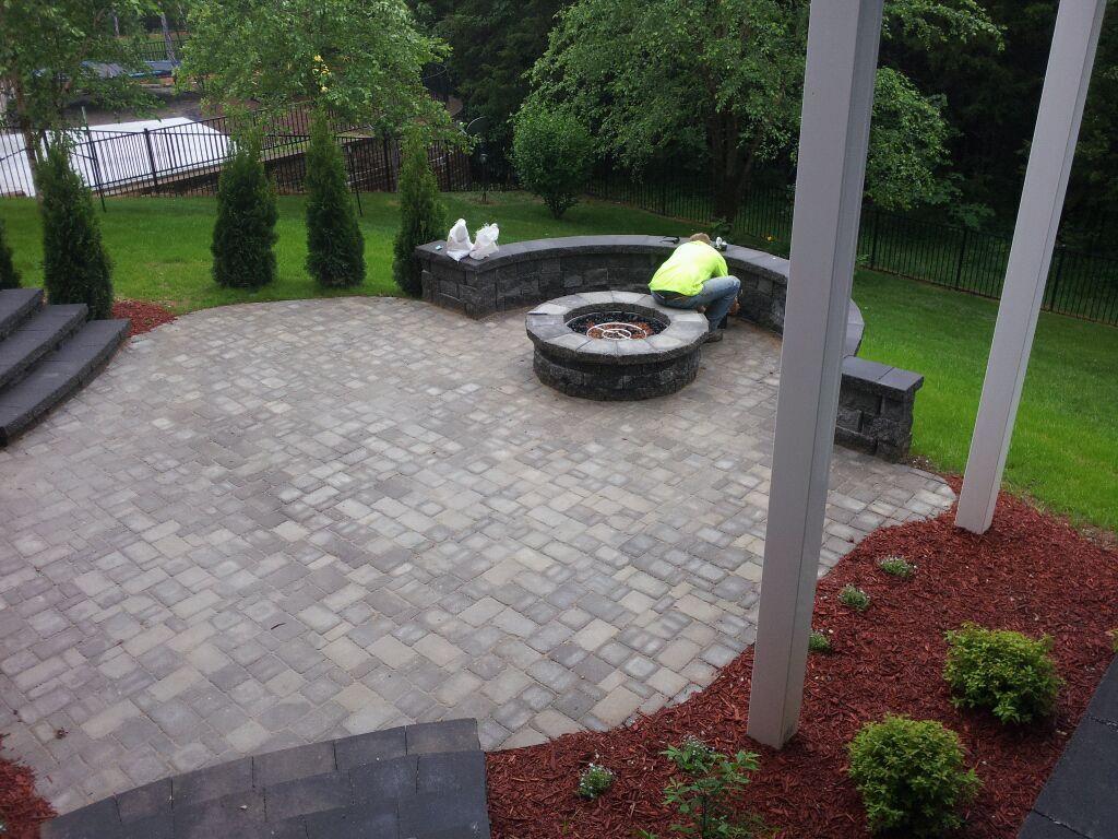Backyard Patio Ideas With Fire Pit Fireplace Design Ideas