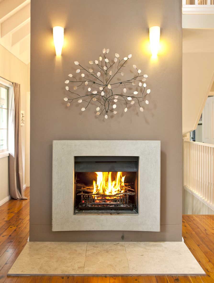 Contemporary Fireplace Mantels Fireplace Design Ideas