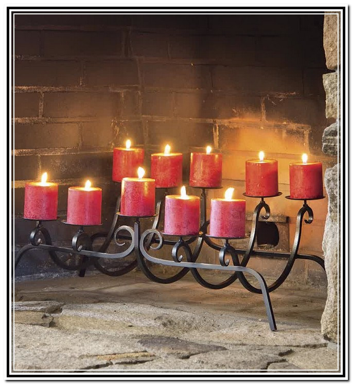 Fireplace Candle Holders Are Incredibly Easy To Set Up Fireplace Design Ideas