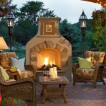 Outdoor Stone Fireplace Ideas