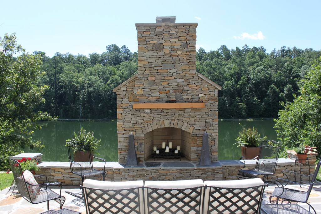 Stone for Outdoor Fireplace